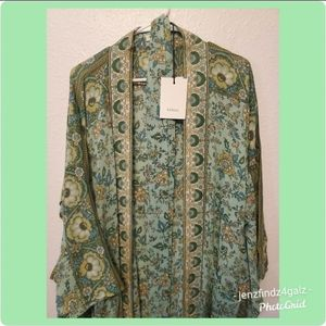 NWT Spell & The Gypsy Collective Folk Song Robe ML